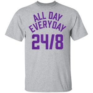 Classic All Day Everyday 248 Hoops Legend T-Shirt Long Sleeve Hoodie