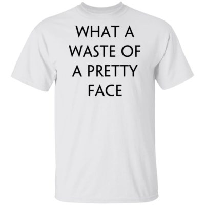 Rolling Stone What A Waste Of A Pretty Face Shirt Long Sleeve Hoodie