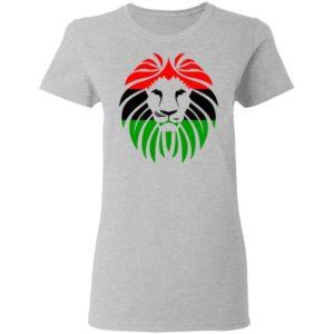 Pan African Flag Shirt Long Sleeve Hoodie
