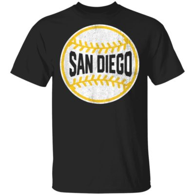 Vintage San Diego Baseball Stitches T-Shirt Long Sleeve Hoodie