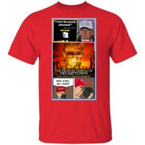 Impeach Trump Save our Democracy Shirt Long Sleeve Hoodie