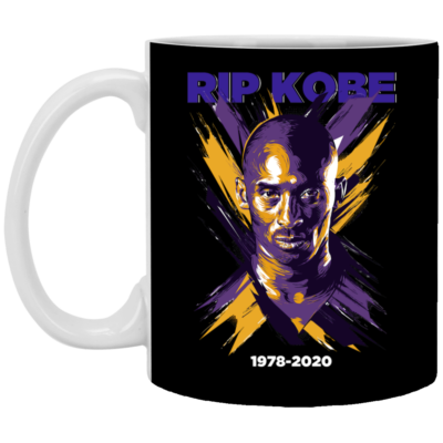 RIP KOBE Black Mamba Mug, Necklace