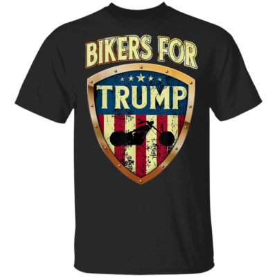 Bikers for Trump - 2020 Motorcycle Shirt Long Sleeve Hoodie