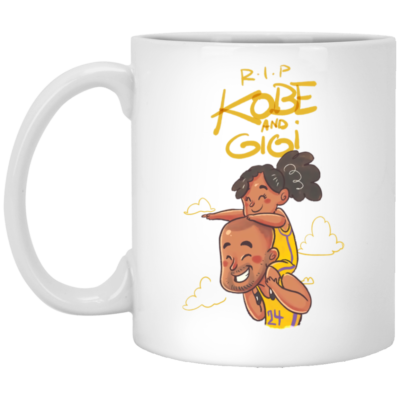 Rip Kobe et Gigi Mug, Necklace