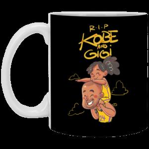 Rip Kobe et Gigi Mug, Necklace