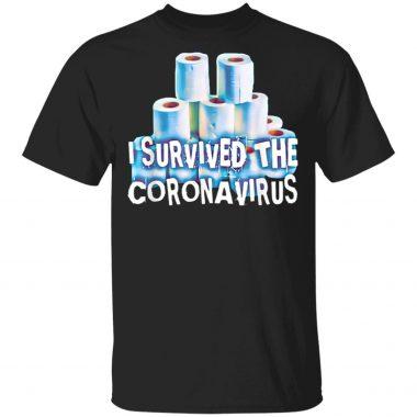 I Survived The Coronarirus NCOV-19 T-Shirt
