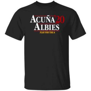 ACUÑA ALBIES 2020 Shirt, Long Sleeve, Hoodie