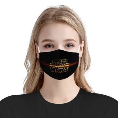 Star Wars Logo Face Mask – Star Wars Logo Mask + Filters PM2.5