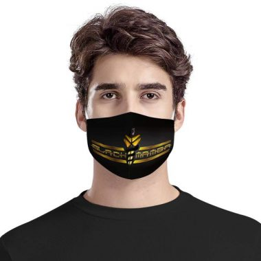 Black Mamba Face Mask + Filters PM2.5