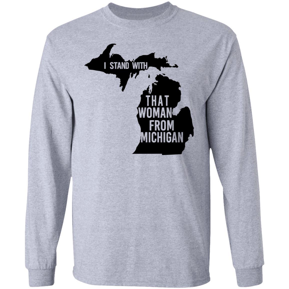 Mad Over Shirts Fly Fishing Michigan Unisex Premium Tank Top