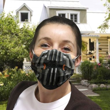 Bane cloth face mask