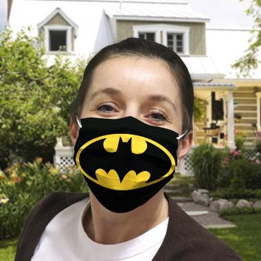 Batman Cloth face mask 1