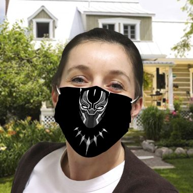 Black Panther Cloth Face Mask
