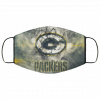 Green Bay Packers Face Mask Antibacterial Fabric