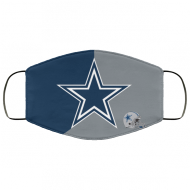 Dallas Cowboys Face Mask Antibacterial Fabric