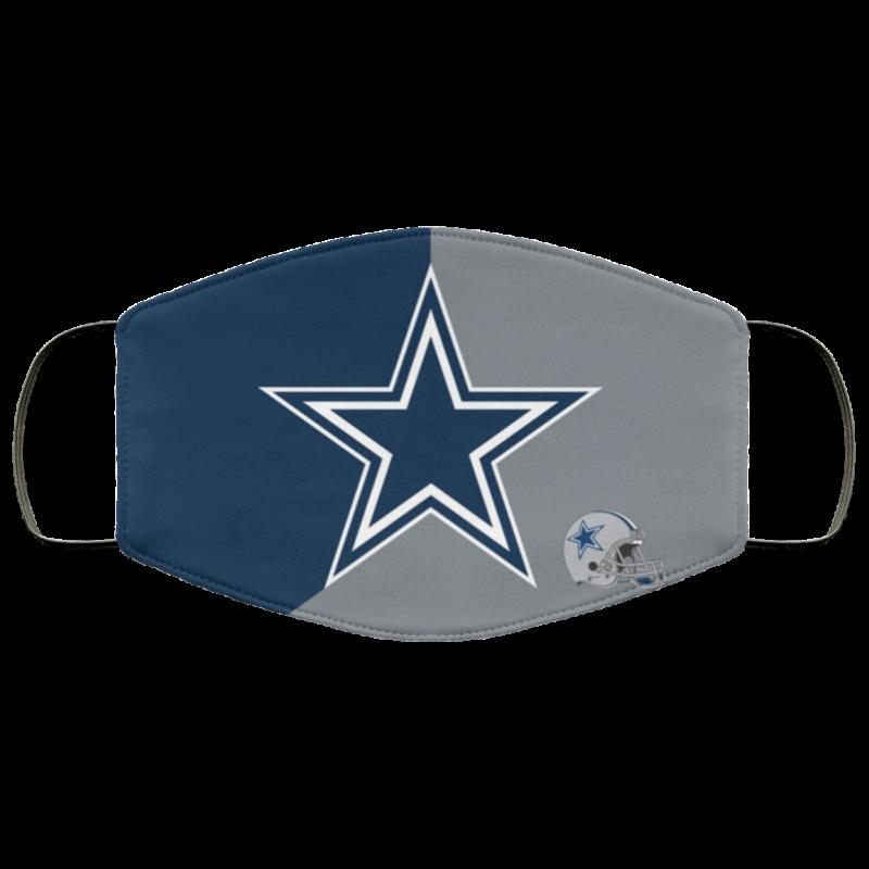 Dallas Cowboys Face Mask Antibacterial Fabric