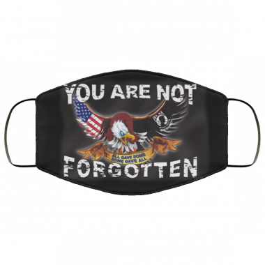 You are Not Forgotten Anley Fly POW MIA Flag Face Mask