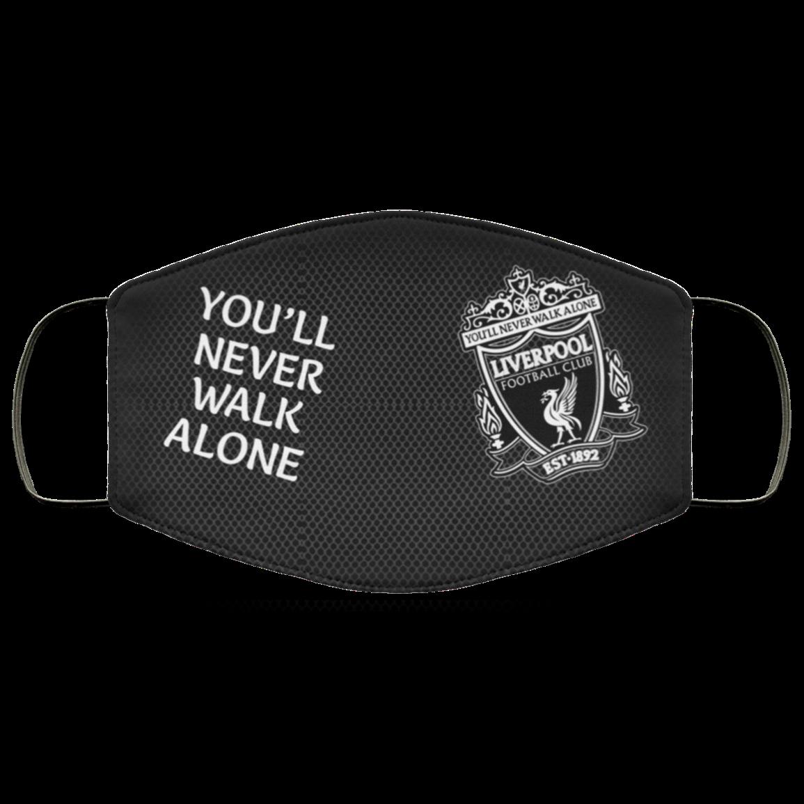 Premier League Champions 2020 Liverpool Fc Face Mask