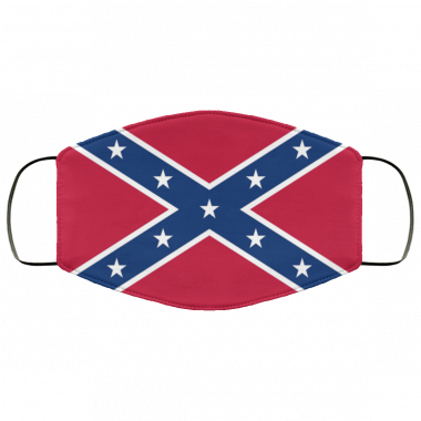 Confederate flag face mask Washable, Reusable