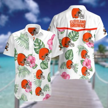 Cleveland Browns Hawaiian Beach Shirt
