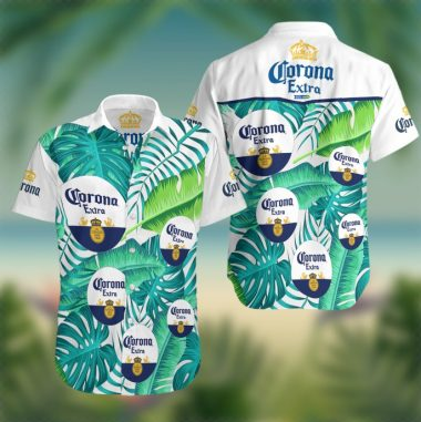 Corona Extra beer Summer Hawaiian Beach Shirt