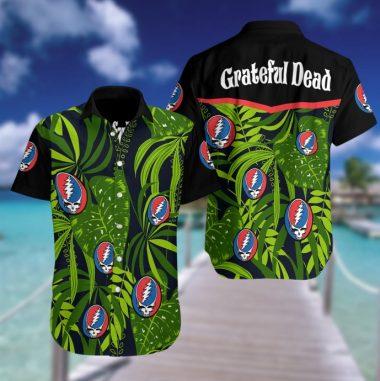 Grateful Dead Hawaiian Beach shirt