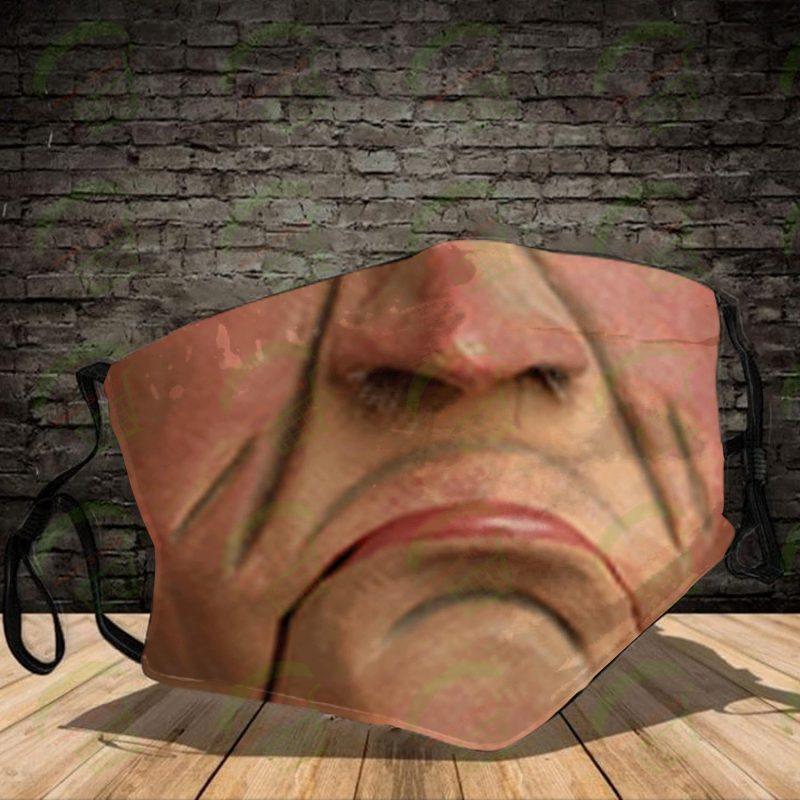 Jeff Dunham Cloth Face Mask Reusable