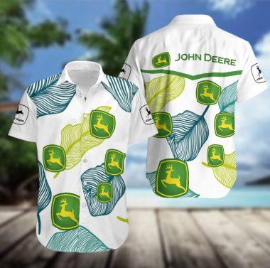 John deere hawaiian shirt