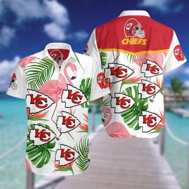 Kansas City Chiefs Hawaiian Beach shirt