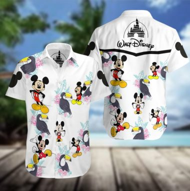 Mickey Mouse Disney Hawaiian Beach Shirt