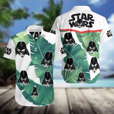 Star Wars Hawaiian Beach Shirt