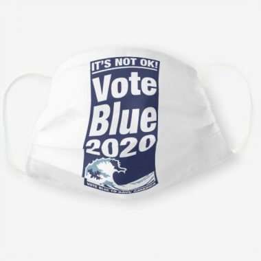 Vote Blue To Save America Cloth Face Mask