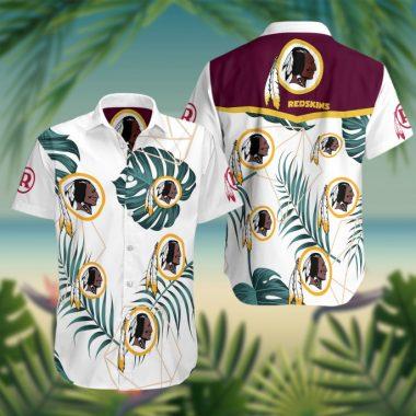 Washington redskins nfl Hawaiian Beach Shirt