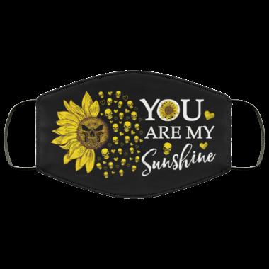 You Are My Sunshine Face MaskWashable Reusable