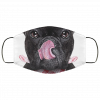 Hungry dog Animals Gifts Safe cloth face mask