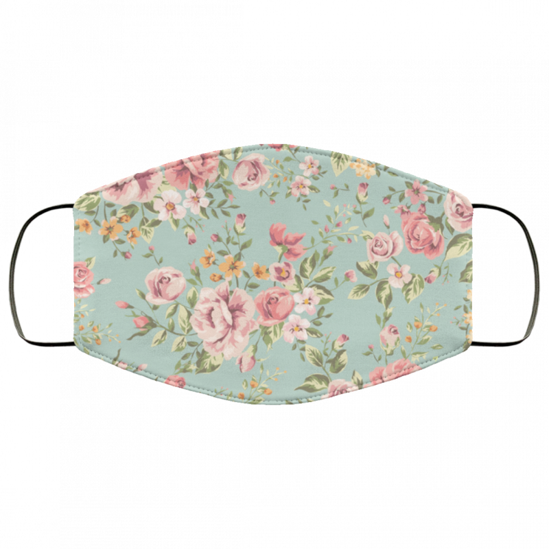 Floral Cloth face mask