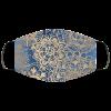 Blue and Gold Mandala Pattern Cloth face mask