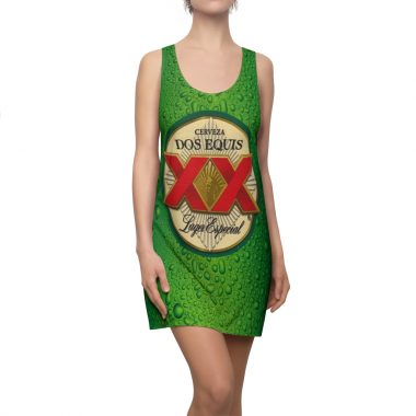 Dos Equis Lager especial Beer Dress Women's Cut and Sew Racerback