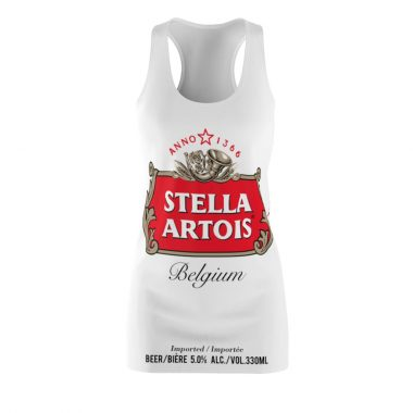 Stella Artois beer Dress Women's Cut and Sew Racerback