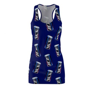 Bud Ice beer Dress Women's Cut and Sew Racerback