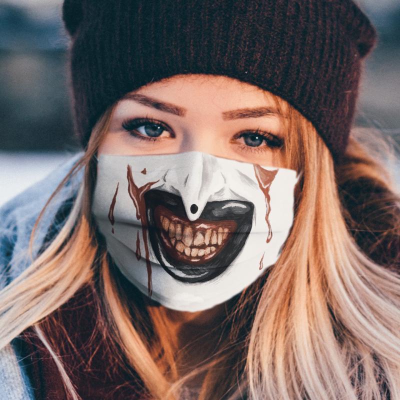 Art the Clown Terrifier mouth Face Mask