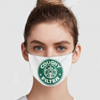 Coughy Filter Starbucks Logo Face Mask