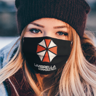 UMBRELLA CORPORATION VINTAGE Face Mask