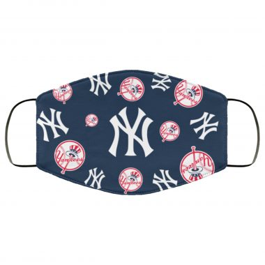 New York Yankees Yankees Logo Pattern Face Mask