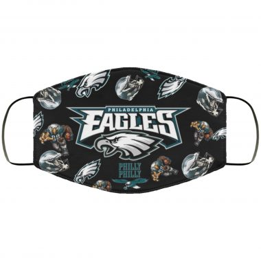 Philadelphia Eagles Eagles Logo Pattern Face Mask