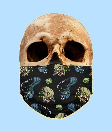 Alien Vs Predator Face Mask