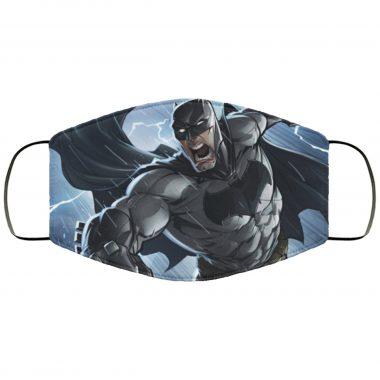 Batman Comic Art v1 DC Comics Caped Crusader Justice League Face Mask