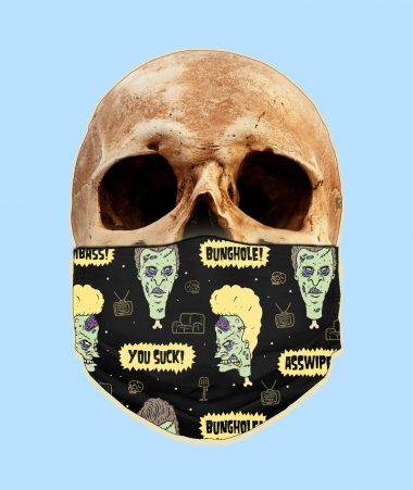 Beavis and Butthead Zombies Face Mask