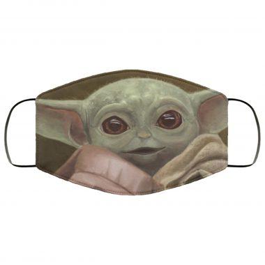 Baby Yoda Design v2 Face Mask Star Wars The Mandalorian