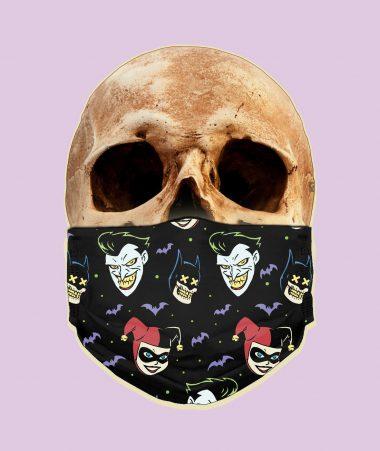 Joker And Harley Quinn Face Mask